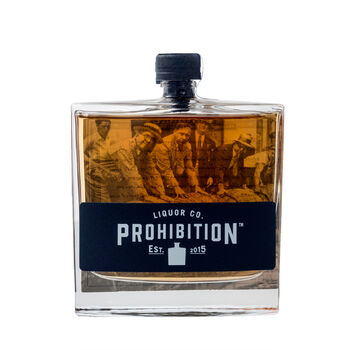Prohibition Shiraz Barrel Aged Gin (100 ml) image