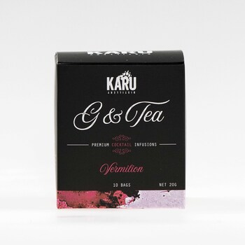 G&Tea cocktail infusion -- Vermilion Red (10 Pack) image
