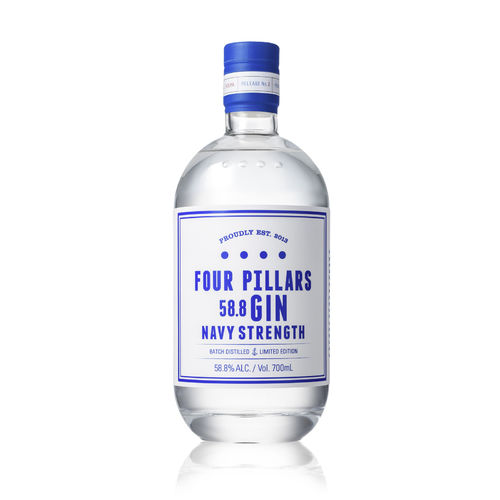Four Pillars Navy Strength Gin (700 ml)