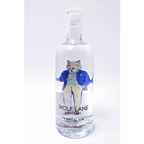 Wolf Lane - Tropical Gin (500 ml)