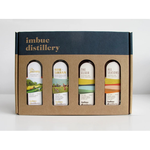 Imbue Distillery Gin Gift Pack (4 x 100 ml)